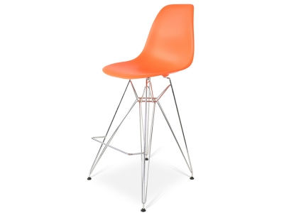Image of the design chair Bar chair DSR - Orange