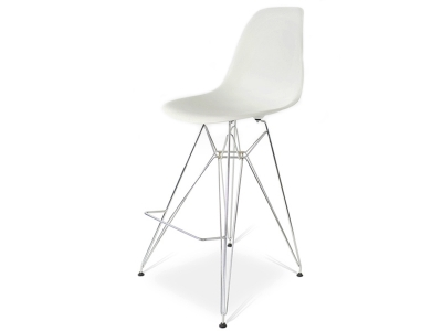 Image of the design chair Bar chair DSR - White