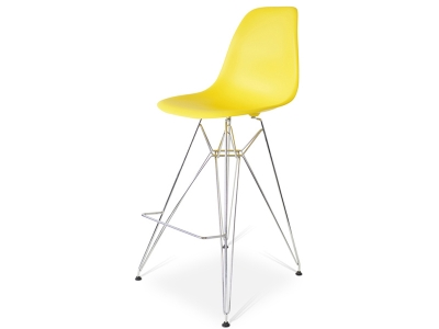 Image of the design chair Bar chair DSR - Yellow