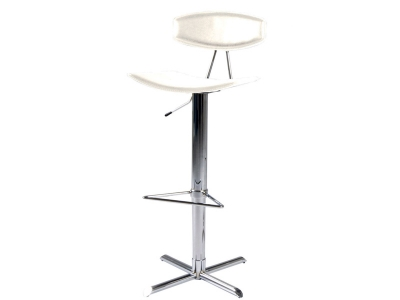 Image of the design chair Barstool BLAISE - White