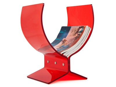 Image of the design chair Butterfly Magazine Rack red