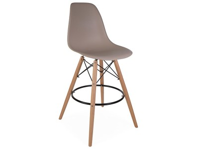 Image of the design chair DSB bar chair - Beige grey