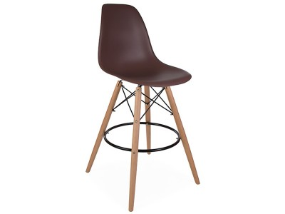 Image of the design chair DSB bar chair - Coffee