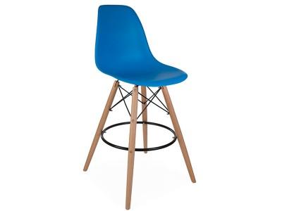 Image of the design chair DSB bar chair - Ocean blue