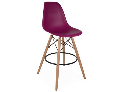Image of the design chair DSB bar chair - Purple