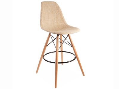 Image of the design chair DSB bar chair Weave - Beige