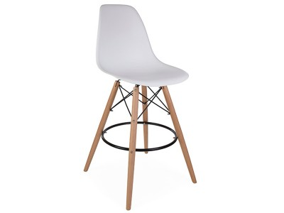 Image of the design chair DSB bar chair - White