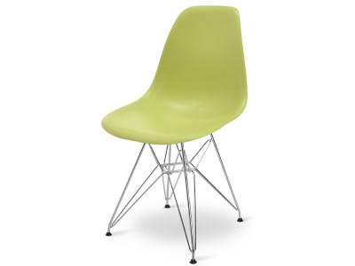 Image of the design chair DSR chair - Olive Green