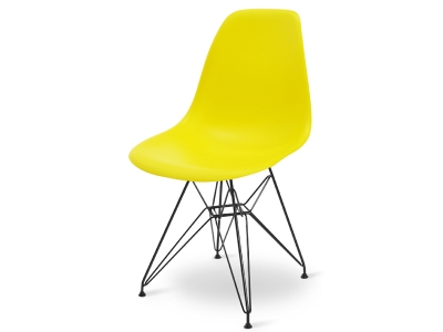 Image of the design chair DSR chair - Yellow lemon