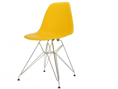 Image of the design chair DSR chair - Yellow