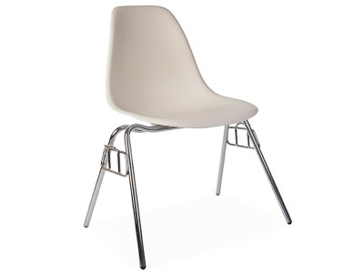 Image of the design chair DSS chair stackable - Cream