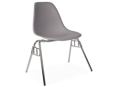 Image of the design chair DSS chair stackable - Mouse grey