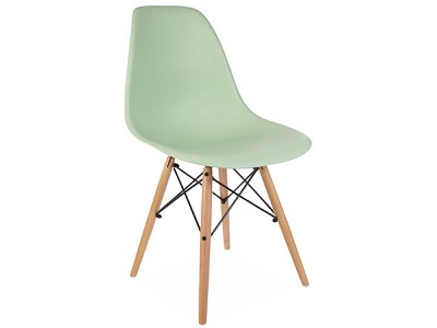 Image of the design chair DSW chair - Almond green