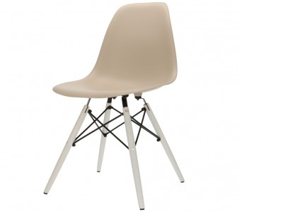 Image of the design chair DSW chair - Beige gray