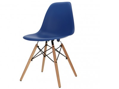 Image of the design chair DSW chair - Dark blue