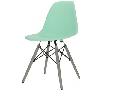 Image of the design chair DSW chair - Mint green
