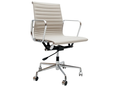 Image of the design chair Eames chair Alu EA117 - Light grey
