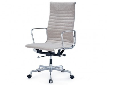 Image of the design chair Eames chair Alu EA119 - Grey Beige