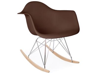 Image of the design chair Eames rocking chair RAR - Coffee