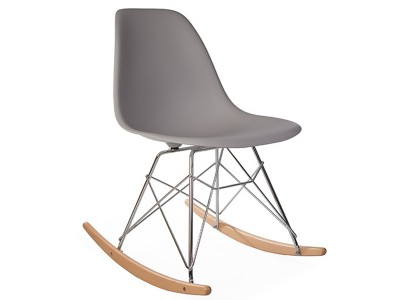 Image of the design chair Eames rocking chair RSR - Mouse grey