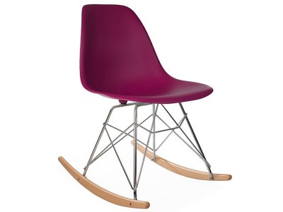Image of the design chair Eames Rocking Chair RSR - Purple