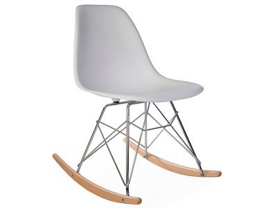 Image of the design chair Eames Rocking Chair RSR - White