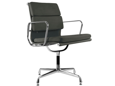 Image of the design chair Eames Soft Pad EA208 - Grey