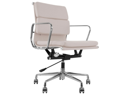 Image of the design chair Eames Soft Pad EA217 - Light grey