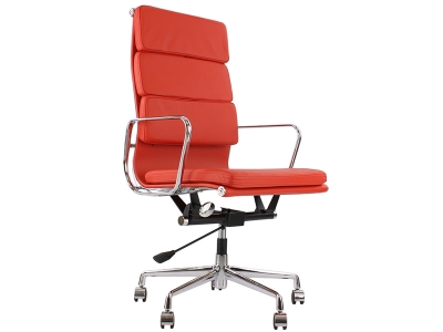 Image of the design chair Eames Soft Pad EA219 - Red