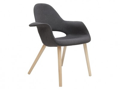 Image of the design chair Eero Aarnio Organic Chair - Grey