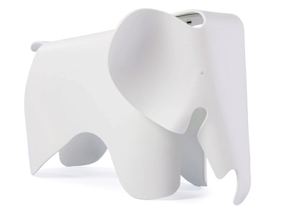 Image of the design chair Elephant Eames - White