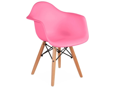 Image of the design chair Kids chair Eames DAW - Pink