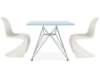 Image of the design chair Kids Eiffel Table - 2 Kids Chairs Panton