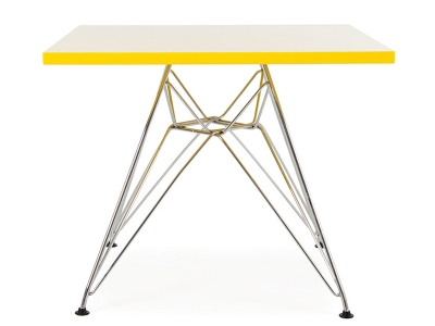 Image of the design chair Kids Table Eames Eiffel - Yellow