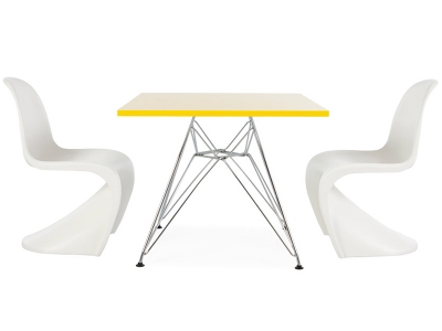 Image of the design chair Kids Table Eiffel - 2 Chairs Panton