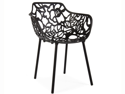 Image of the design chair Lilly Chair - Black