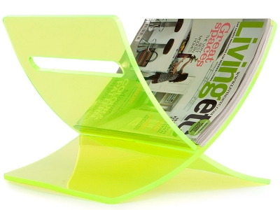 Image of the design chair Magazine rack The Cross - Green