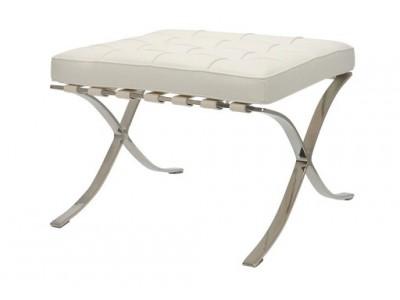 Image of the design chair Ottoman Barcelona - White