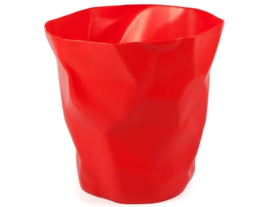 Image of the design chair Scrunch bin - Red