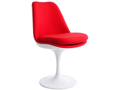 Image of the design chair Tulip chair Saarinen - Wool upholstery