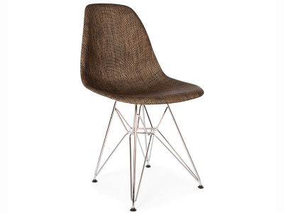 Image of the design chair Weave DSR chair - Cocoa