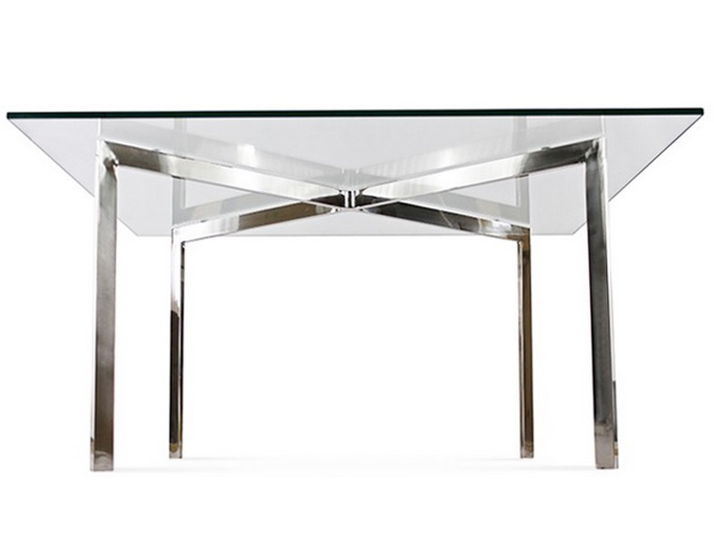 Coffee table barcelona 90 x 90 cm - Table ronde 90 cm ...
