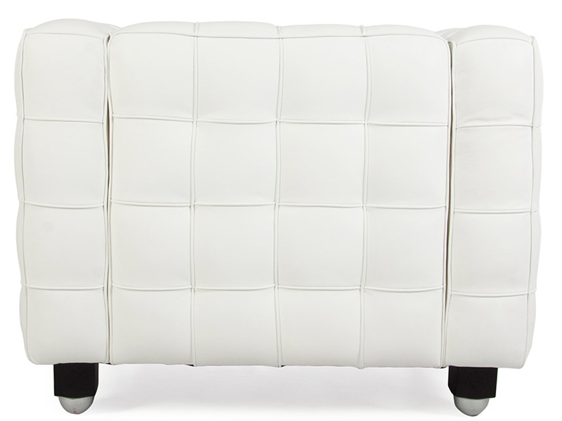 Image of the design furniture Kubus Armchair - White