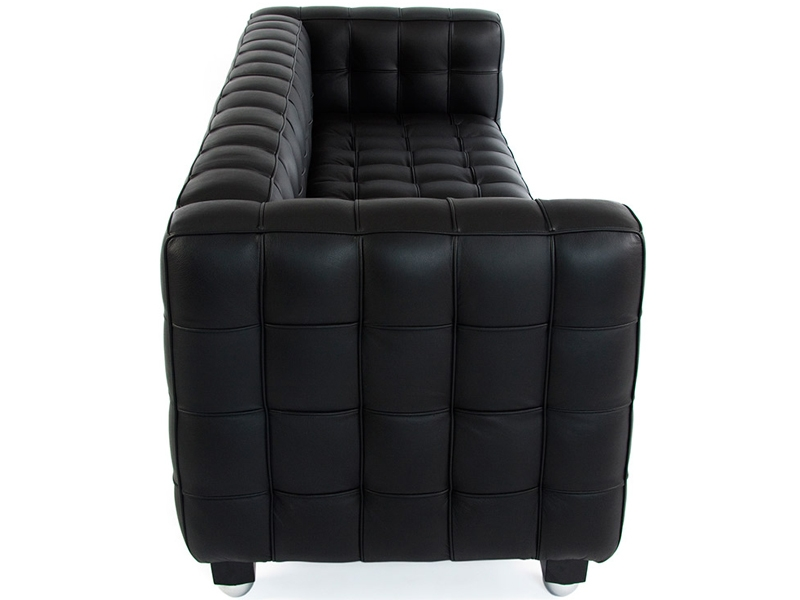 Image of the design furniture Kubus Sofa 3 Seater - Black