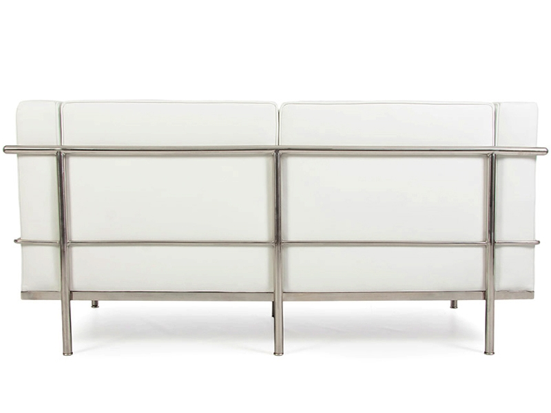 Image of the design furniture LC2 Le Corbusier 2 Seater Large-White