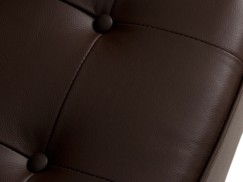 Image of the design furniture Lounge Chair Knoll - Brown