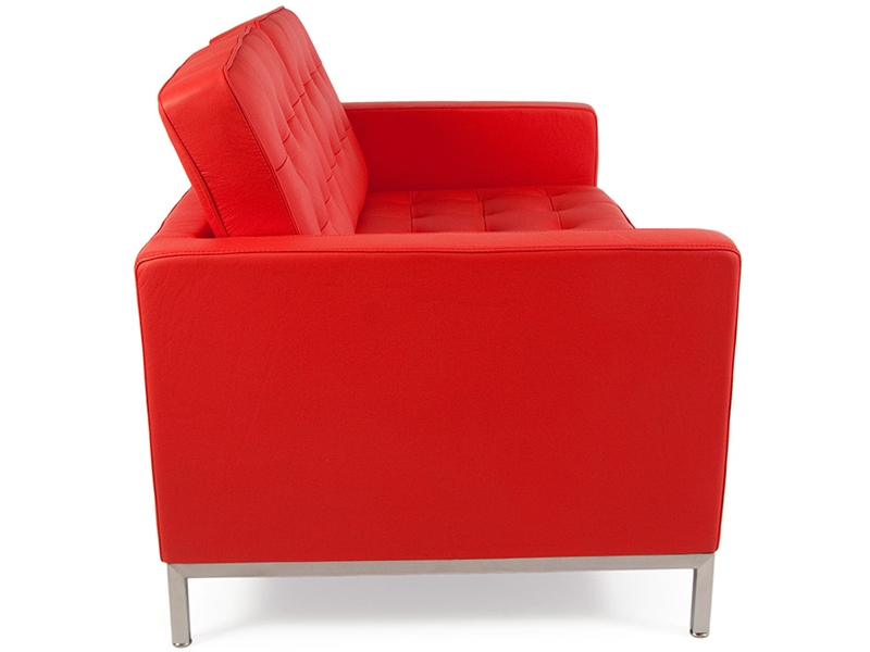 Image of the design furniture Lounge Knoll 2 Seater - Red