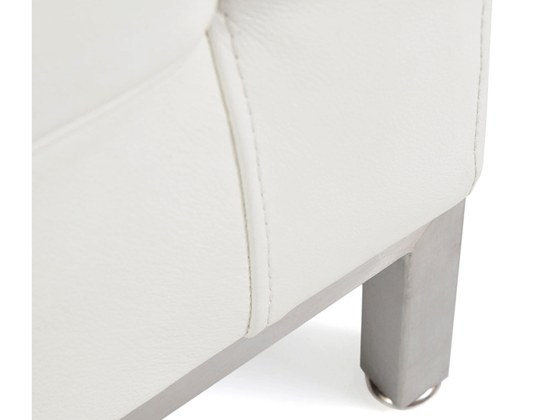 Image of the design furniture Lounge Knoll  3 Seater - White