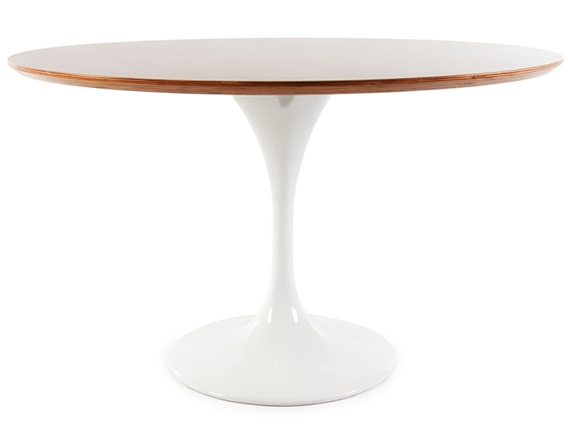 Image of the design furniture Tulip Table Saarinen and 6 chairs