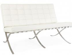 Image of the design furniture Barcelona sofa 2 seater - White